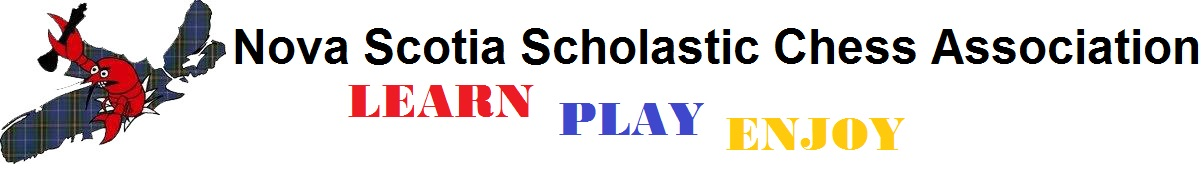 Logo for Nova Scotia Scholastic Chess Association